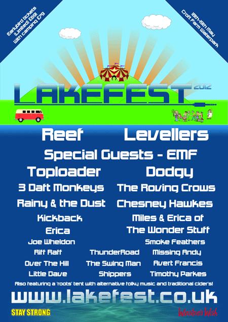 LakeFest lineup