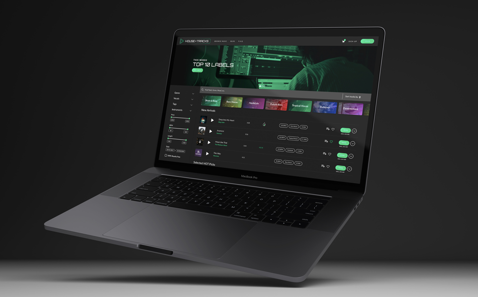 House of Tracks Launches New Website With New Features